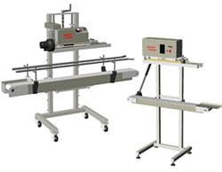 Heat Sealing Machines - Quality Seal on Films - International Shipping